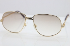 75bb301e735 CT Carter Hot Sunglasses 1988 Metal 1183310 Sunglasses in Gold Mix Silver  Brown Lens