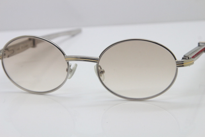 Wholesale Stainless Steel SunGlasses Cartier 7550178 luxury brand ...